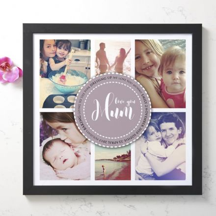 Personalised Photo Collage For Mum